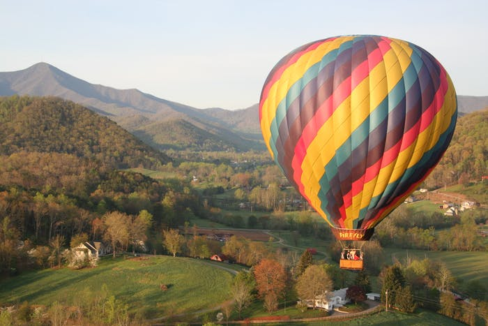 Asheville Hot Air Balloons