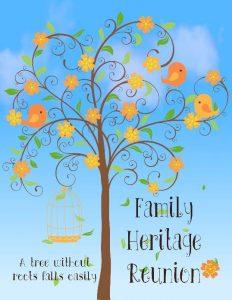 Family Heritage Invitation