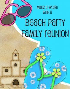 Sun, Sand and Surf Reunion Theme