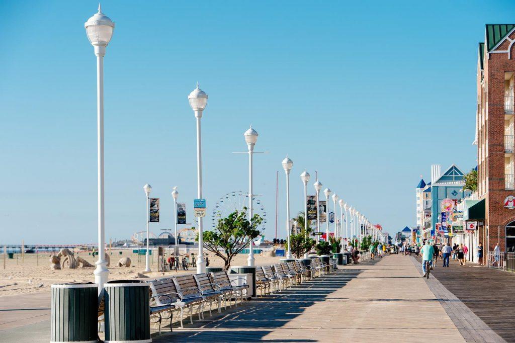 Board walk and Kites