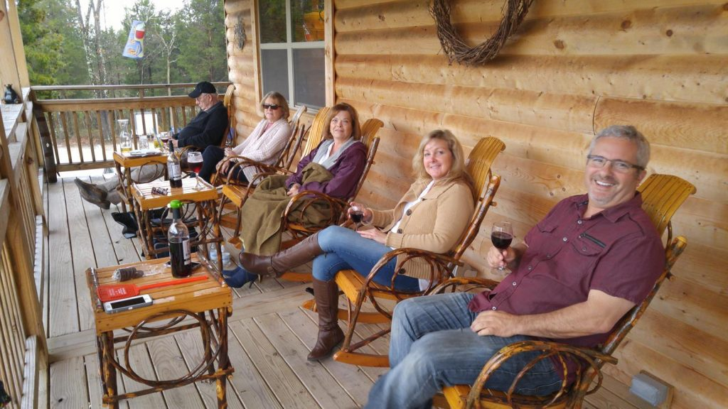 Explore Harrison County's four local wineries