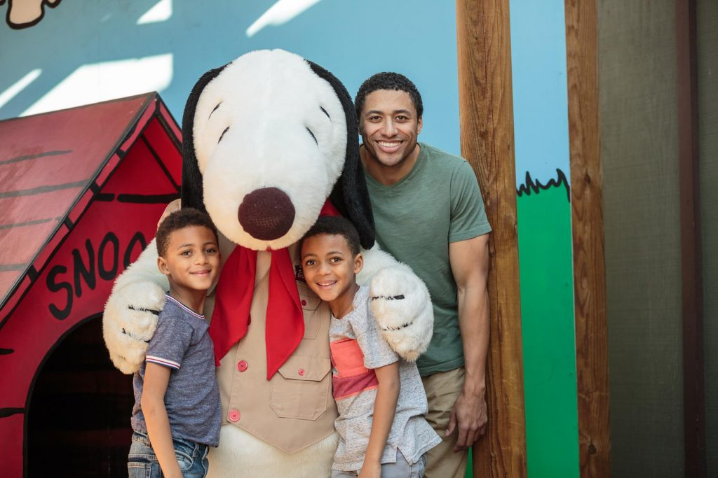 Father and Sons Snoopy Meet and Greet