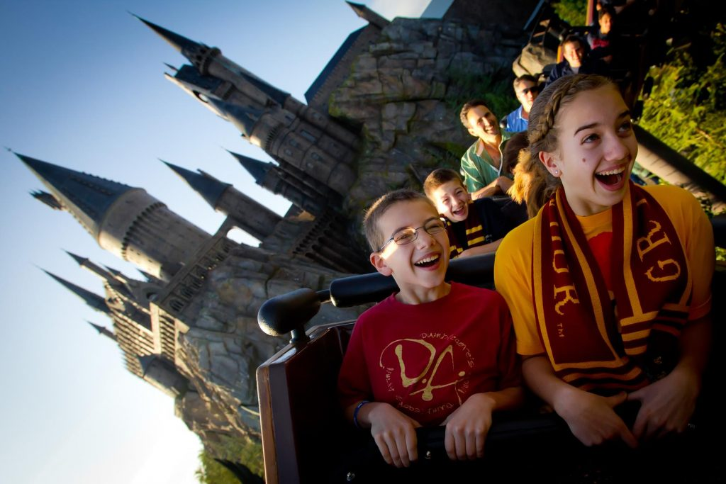 Flight of the Hippogriff at The Wizarding World of Harry Potter at Universal Orlando
