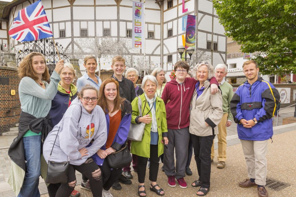 Road Scholar Grandparents with Grandchildren in London Credit Courtesy of Road Scholar