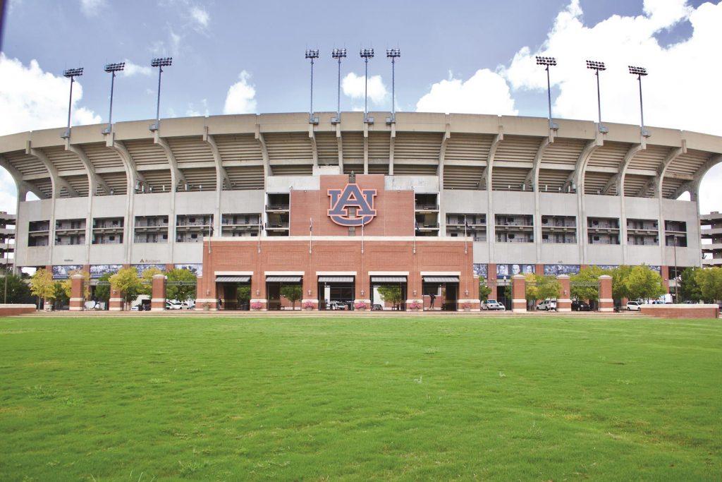 Jordan-Hare Stadium in Auburn, Alabama