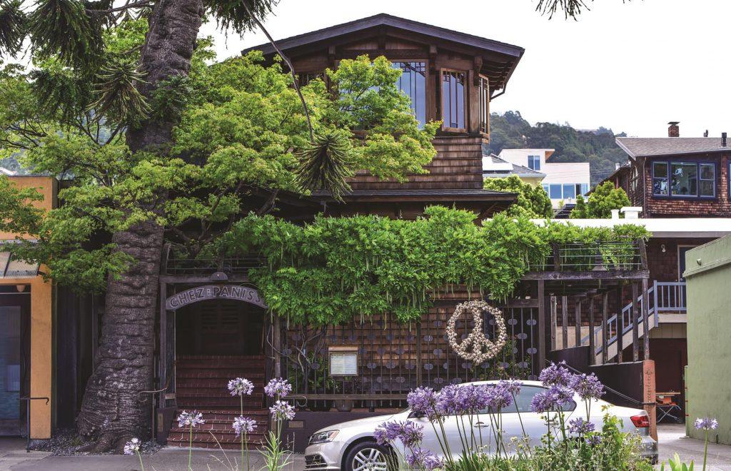 Alice Waters' Chez Panisse is one of the finest restaurants in Berkeley.