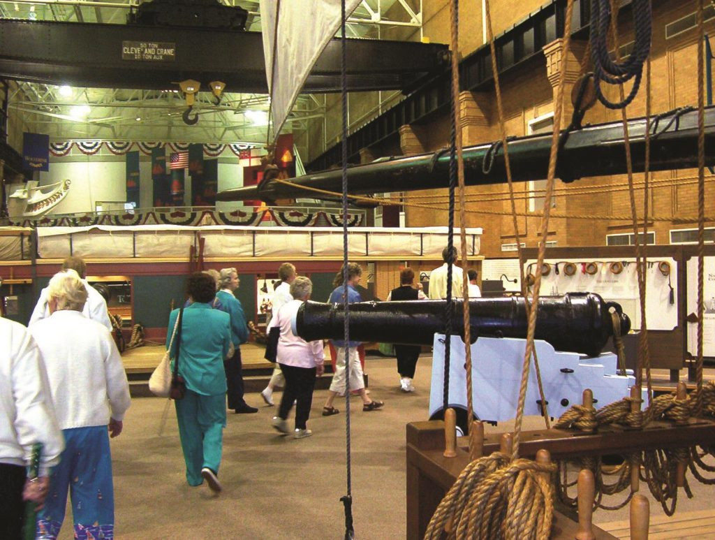 The War of 1812 came alive for us at the Erie Maritime Museum.