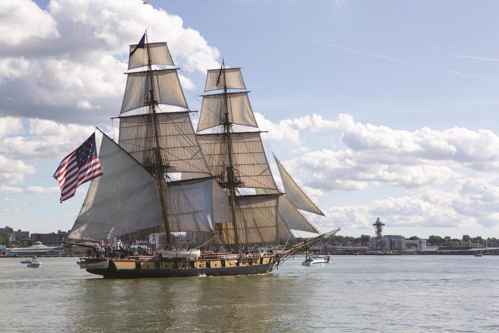 The U.S. Brig Niagara harkens back to the glorious Age of Sail.