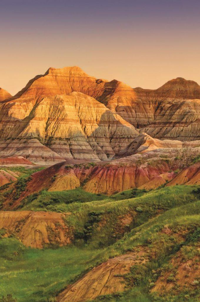 Badlands National Park in Southwestern South Dakota