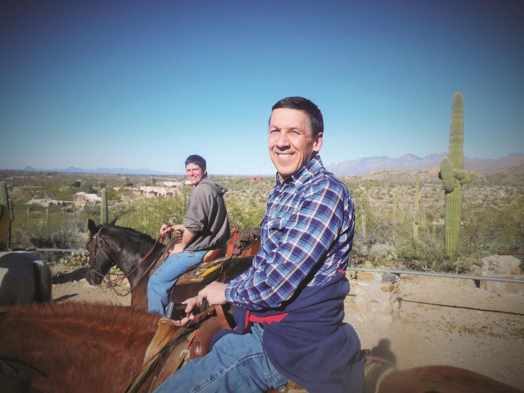 All ages can enjoy exploring the desert landscapes at Tucson's Tanque Verde Guest Ranch.