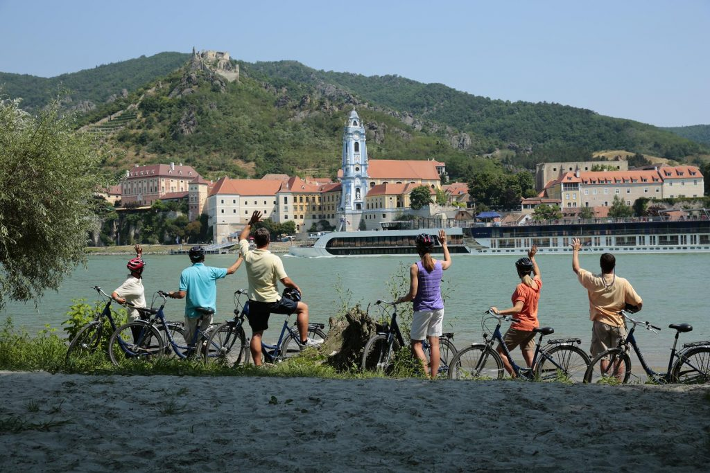 Families enjoy exploring the world and celebrating together on an AmaWaterways river cruise.