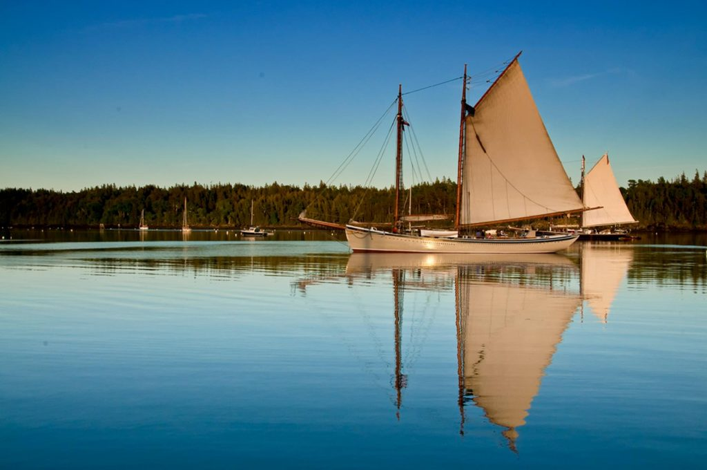 Families can book private group charters with the Maine Windjammer Association.