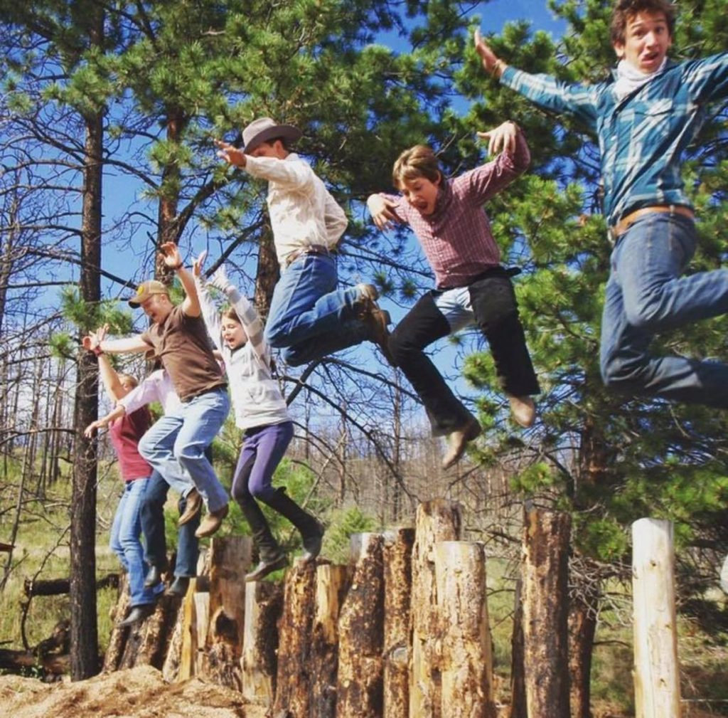 Photo Credit Lost Valley Ranch Jumping for joy at Lost Valley Ranch - Planning a Family Reunion