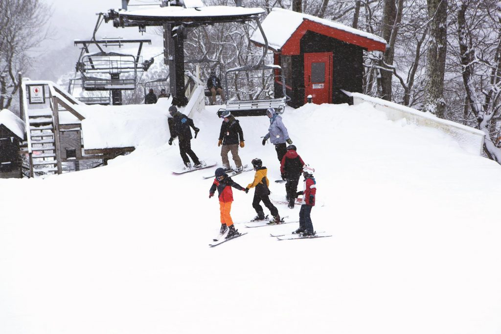 Appalachian Ski Mountain is a magnet for winter fun in Blowing Rock, North Carolina - A Family Reunion Christmas