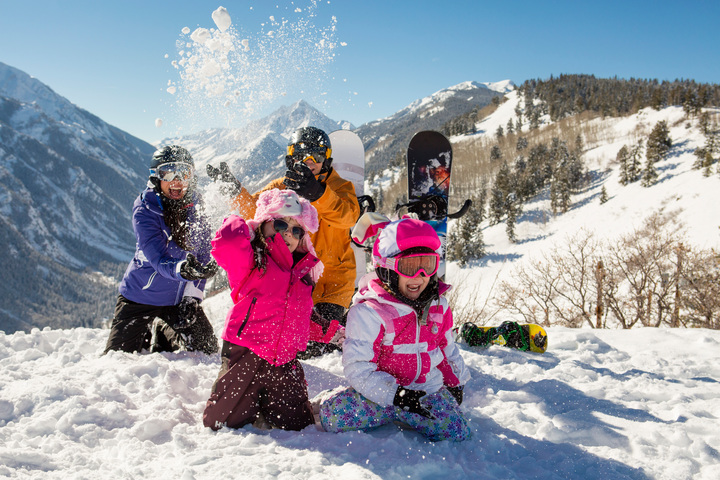 Buttermilk Mountain Resort is one of the best family ski resorts