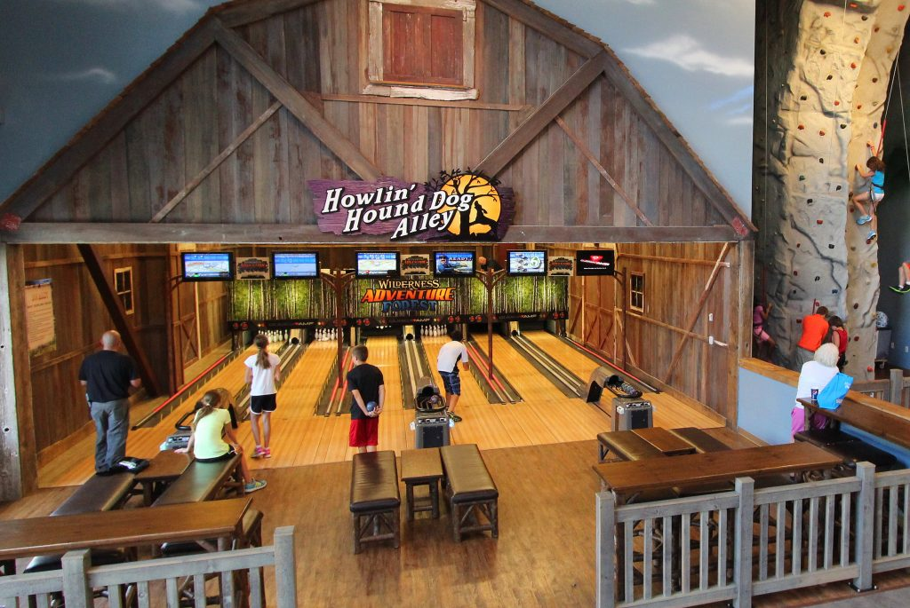 Bowling Alley Smokies at Wilderness